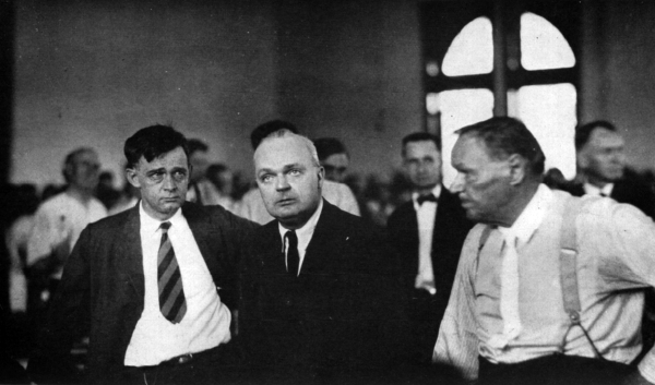 john scopes trial essay Free essay: the scopes trial, formally known as the state of tennessee vs   happened to an individual, john scopes, in dayton, tennessee during the.